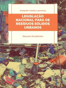 Legislação brasileira para os resíduos sólidos urbanos
