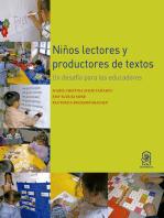 Niños lectores y productores de textos: Un desafío para los educadores