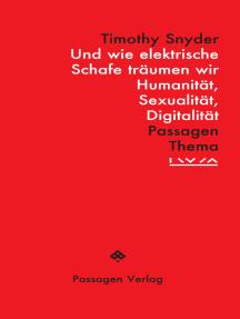 Und wie elektrische Schafe träumen wir: Humanität, Sexualität, Digitalität