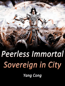 Peerless Immortal Sovereign in City: Volume 4