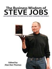 The Business Wisdom of Steve Jobs: 250 Quotes from the Innovator Who Changed the World