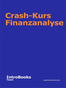 Crash-Kurs Finanzanalyse