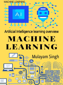 MACHINE LEARNING: Artificial Intelligence learning overview