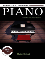 Aprende a tocar canciones en el piano