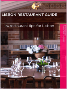 Lisbon Restaurant Guide: Lissabon4Insider, #1
