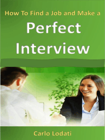 How To Find a Job and Make a Perfect Interview