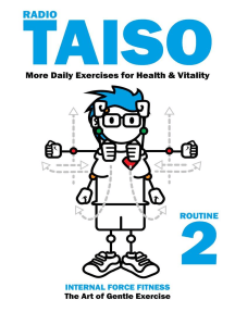 Radio Taiso Routine 2: More Exercises for Health & Vitality: Radio Taiso, #2