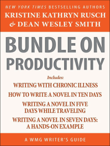 Bundle on Productivity: A WMG Writer's Guide: WMG Writer's Guides, #21