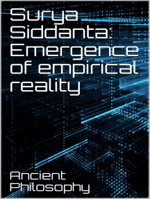 Surya Siddanta: Emergence of Empirical Reality