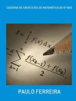 Caderno De ExercÍcios De MatemÁtica Do 8º Ano