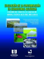 Evaluación de la contaminación en Ecosistemas Acuáticos: Un estudio de caso en la laguna de Sonso, cuenca alta del Río Cauca