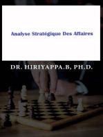 Analyse Stratégique Des Affaires
