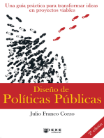 Diseño de Políticas Públicas, 2.a edición: Una guía práctica para transformar ideas en proyectos viables