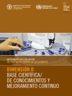 Instrumento de evaluación del sistema de control de los alimentos