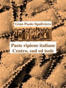 Paste ripiene italiane Centro,Sud ed isole
