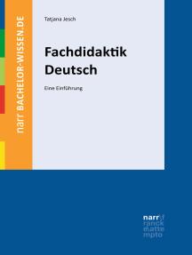 Fachdidaktik Deutsch: Eine Einführung