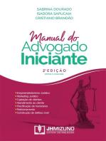 Manual do Advogado Iniciante: 2ª edição
