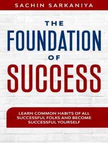 The Foundation of Success