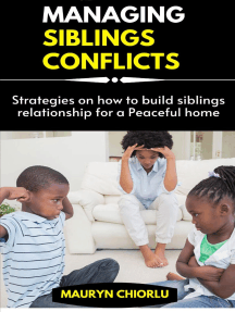 Managing Siblings Conflicts