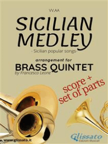Sicilian Medley - Brass Quintet score & parts: popular songs