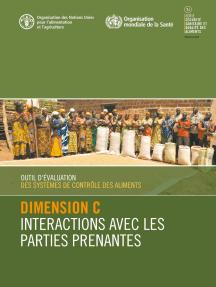 Outil d'évaluation des systèmes de contrôle des aliments: Dimension C - Interactions avec les parties prenantes