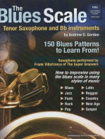 The Blues Scale for Tenor Sax and Bb instruments