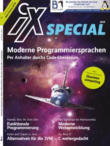 iX Special Moderne Programmiersprachen: Per Anhalter durchs Code-Universum