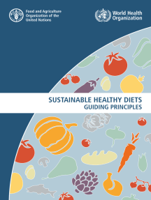 Sustainable Healthy Diets: Guiding Principles