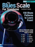 The Blues Scale for Trombone