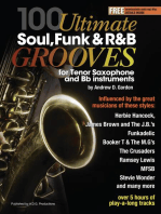100 Ultimate Soul, Funk and R&B Grooves for Tenor Saxophone and Bb instruments