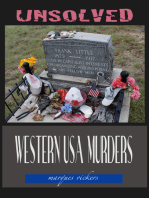 Unsolved Western USA Murders