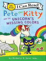 Pete the Kitty and the Unicorn's Missing Colors