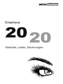 2020: Gedichte, Lieder, Zeichnungen