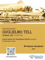 Guglielmo Tell - Quartetto di Sassofoni (Set parti): Ouverture dall'opera