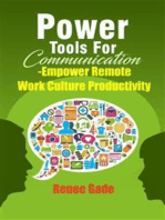 Power Tools of Communication - Empower Remote Work Culture Productivity
