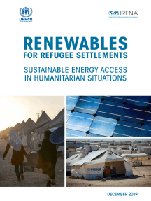 Renewable solutions for refugee settlements