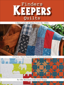Finders Keepers Quilts: A Rare Cache of Quilts from the 1900s