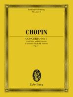 Piano Concerto No. 1 E minor