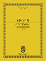 Piano Concerto No. 2 F minor