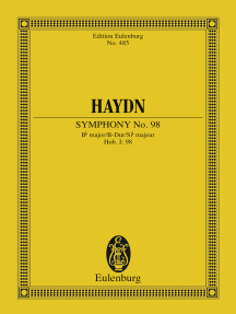 Symphony No. 98 Bb major: Hob. I: 98
