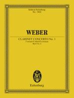 Clarinet Concerto No. 1 F minor
