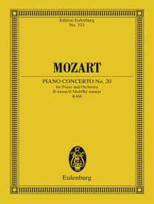 Piano Concerto No. 20 D minor: K. 466
