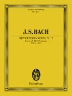 Overture (Suite) No. 2 B minor