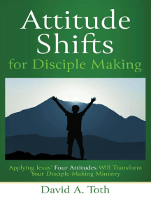 Attitude Shifts for Disciple Making