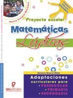 Mi proyecto escolar Matemáticas Lúdicas: Adaptaciones curriculares para preescolar, primaria y secundaria