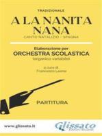 A La Nanita Nana - Orchestra Scolastica (partitura)