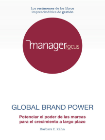 Resumen de Global Brand Power de Barbara E. Kahn