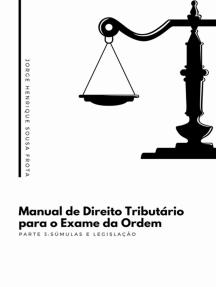 Manual De Direito Tributário Para O Exame Da Ordem