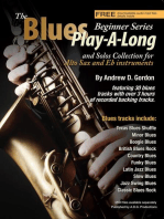 The Blues Play-A-Long and Solos Collection for Eb (alto) sax Beginner Series