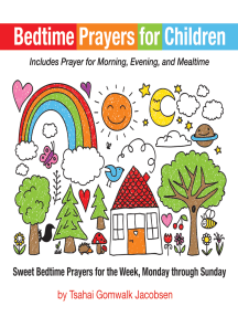Bedtime Prayers for Children: Sweet Bedtime Prayers for the Week, Monday through Sunday